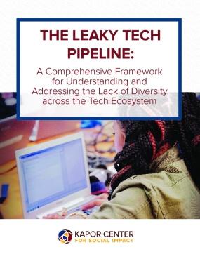 The Leaky Tech Pipeline: A Comprehensive Framework for Understanding and Addressing the Lack of Diversity Across the Tech Ecosystem
