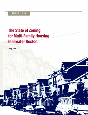 The State of Zoning for Multi-Family Housing in Greater Boston