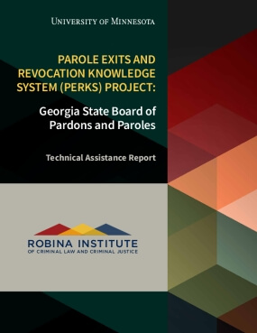 Parole Exits and Revocation Knowledge System (PERKS) Project: Georgia State Board of Pardons and Paroles