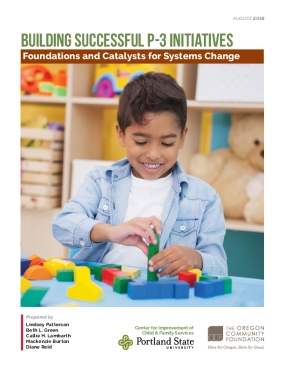 Building Successful P-3 initiatives: Foundations and Catalysts for Systems Change